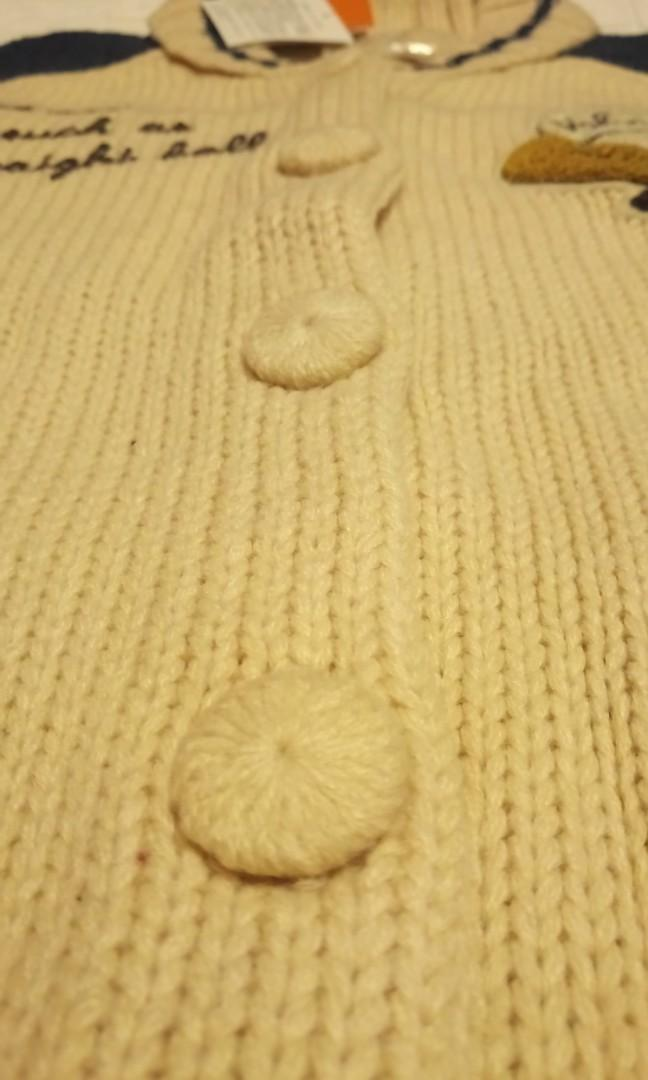 F i.n.t Baseball Patch Kint Sweater 棒球徽針織毛衣 未剪牌