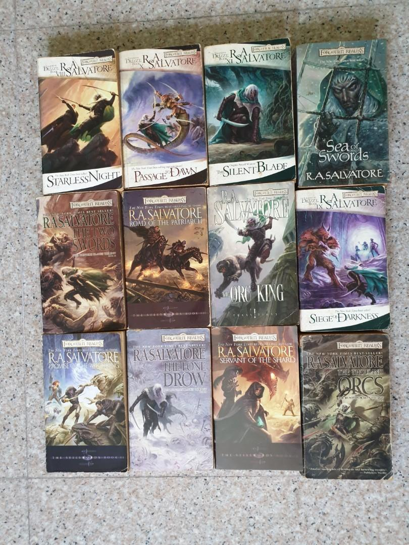 Forgotten Realms, Books & Stationery, Fiction on Carousell