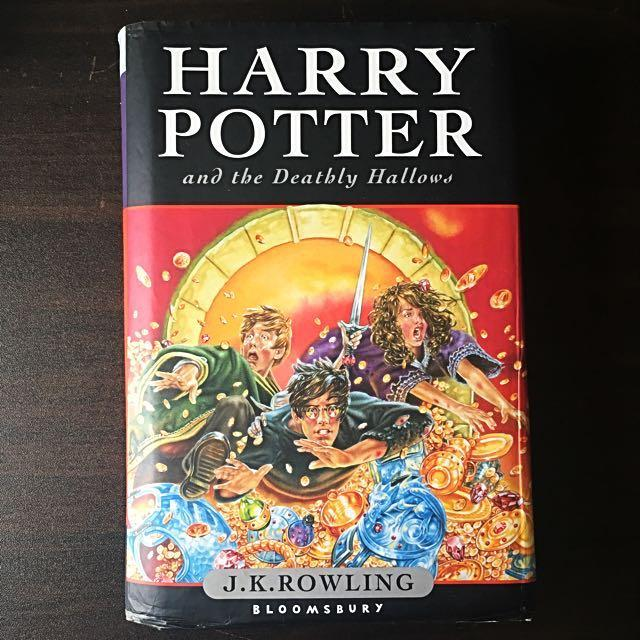 Harry Potter & The Deathly Hallows Hardcover