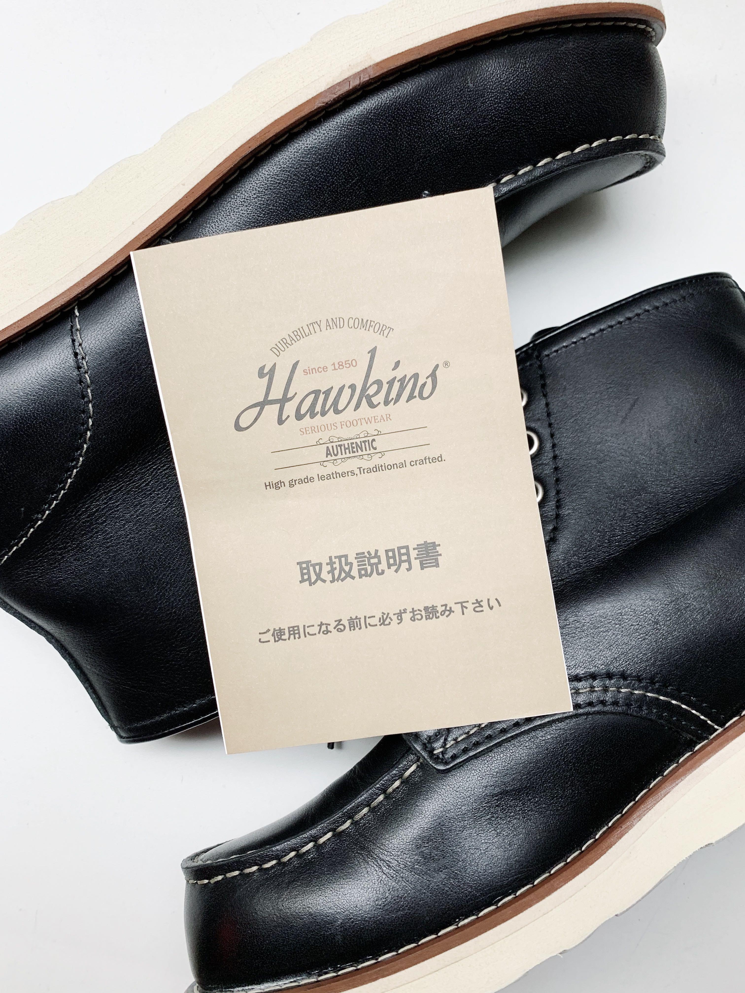 Hawkins Classic Moc Toe Boots, Men's