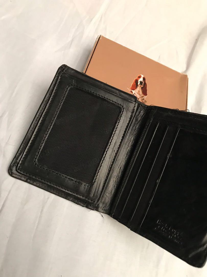 Hush Puppies Wallet Black (dompet)