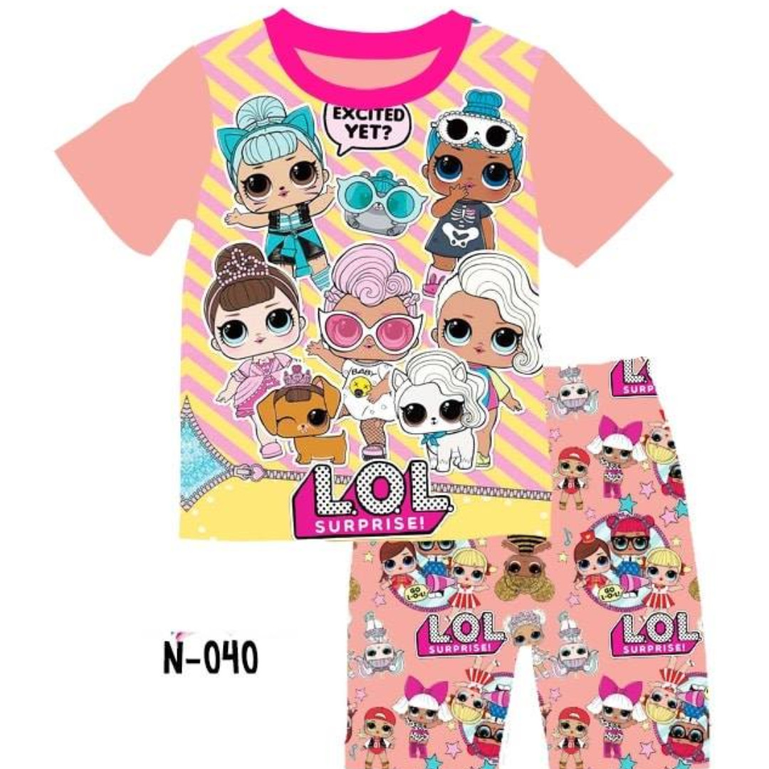 7f9f7384c INSTOCK LOL SURPRISE DOLLS TEE SET, Babies & Kids, Girls' Apparel, 4 ...