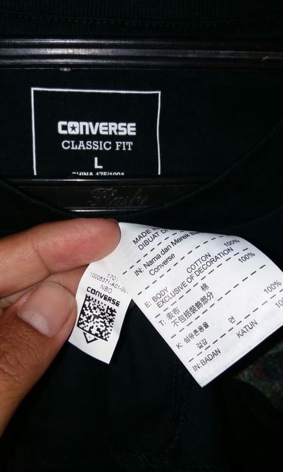 Long sleeve Converse original size L