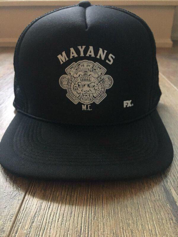 Mayans Motorcycle Club Hat from Danny Trejo's L.A. Taco Spot