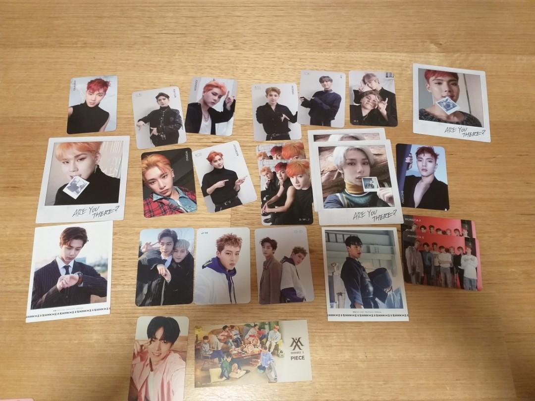 Monsta X Pcs The Code and Are You There