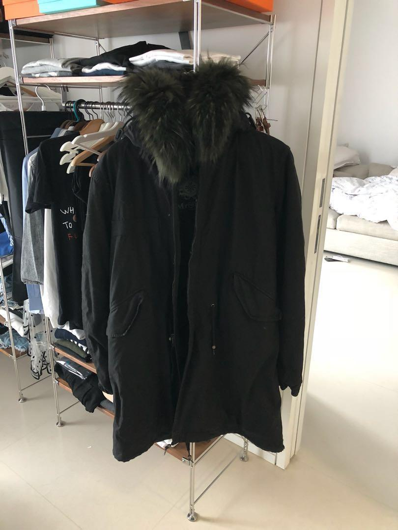 Mr & Mrs Parka off white