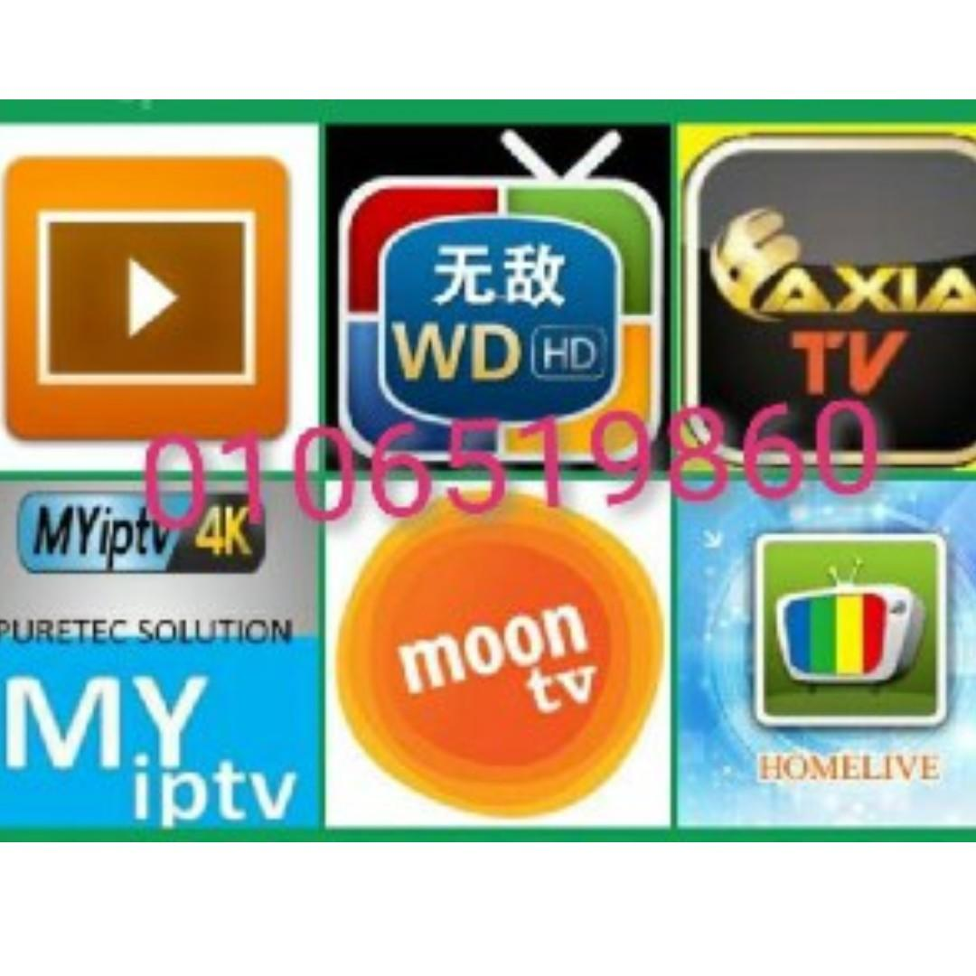 Myiptv4k HaoHD MoonTV AxiaTV Homelive Live TV Channel on