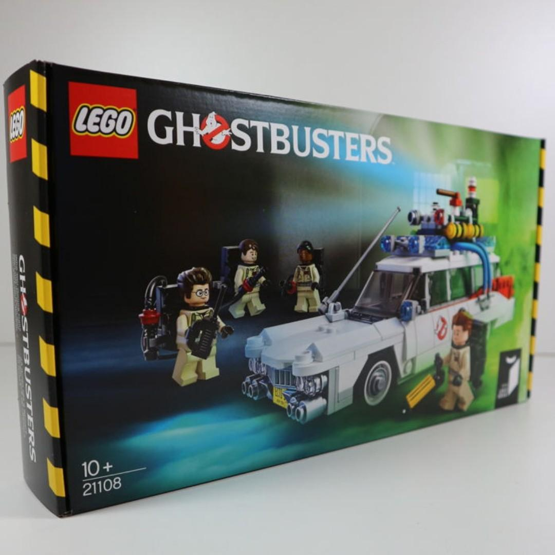 NEW SEALED Lego 21108 Ghostbusters Ecto-1