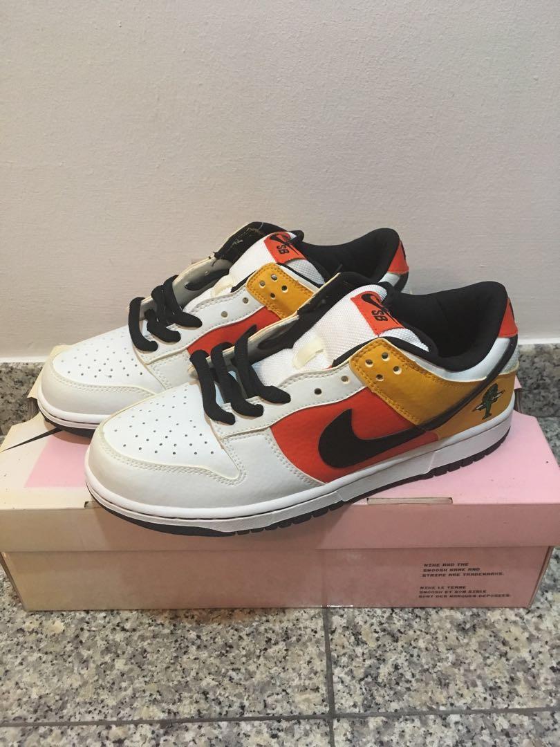 hot sale online 6ee14 e6420 Nike SB Raygun White Skateboarding Hype (US8), Men's Fashion ...