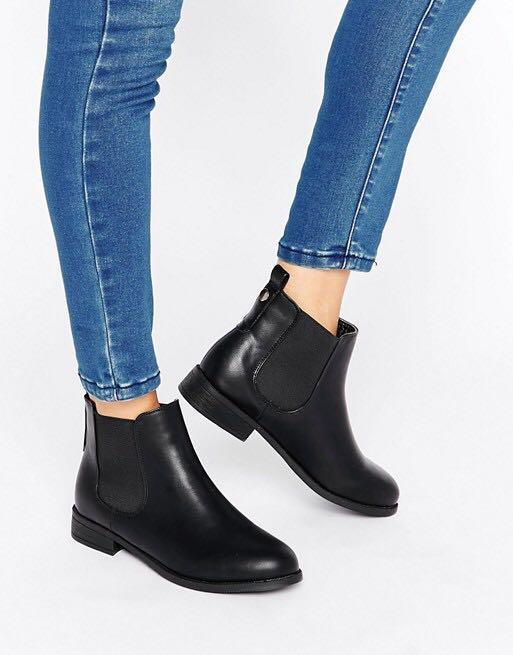 2674b9c77d0ea Park Lane Flat Chelsea Boots, Women's Fashion, Shoes, Flats ...