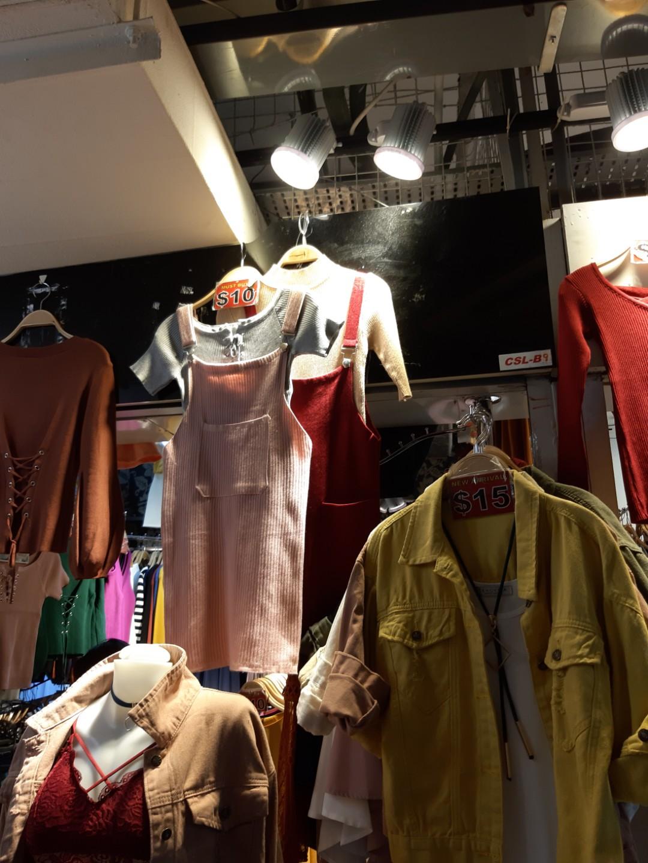 32fa12727f3 pink ribbed dungaree dress