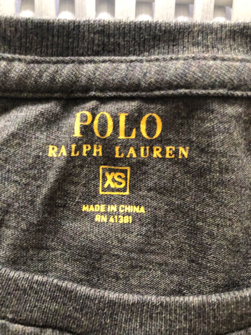 24cdce18 Polo Ralph Lauren 💯% Authentic olive green pocket t-shirt for SGD$17 (size  XS), Sports, Sports Apparel on Carousell