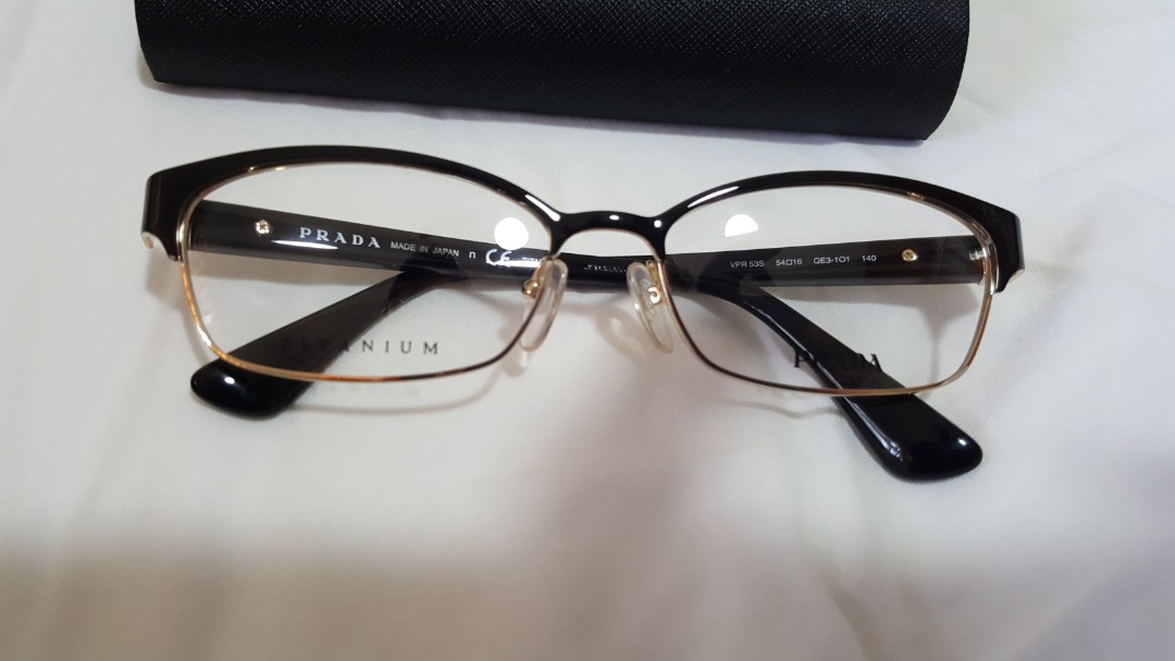 2f672754421 Prada frame glasses non prescription