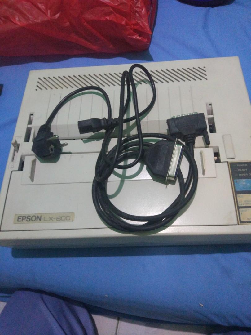 Printer Epson LX-800 dot matrik