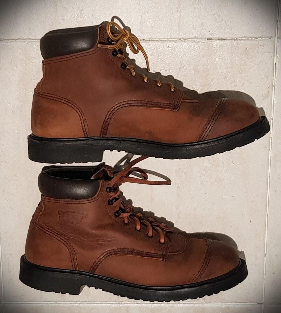 Boot, Tobacco. Sz US11, UK10, EU44
