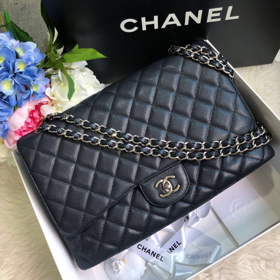 6b7abaa7adaa ❌SOLD!❌ Superb Deal! Full Set LOCAL RECEIPT! Chanel Maxi SF in ...