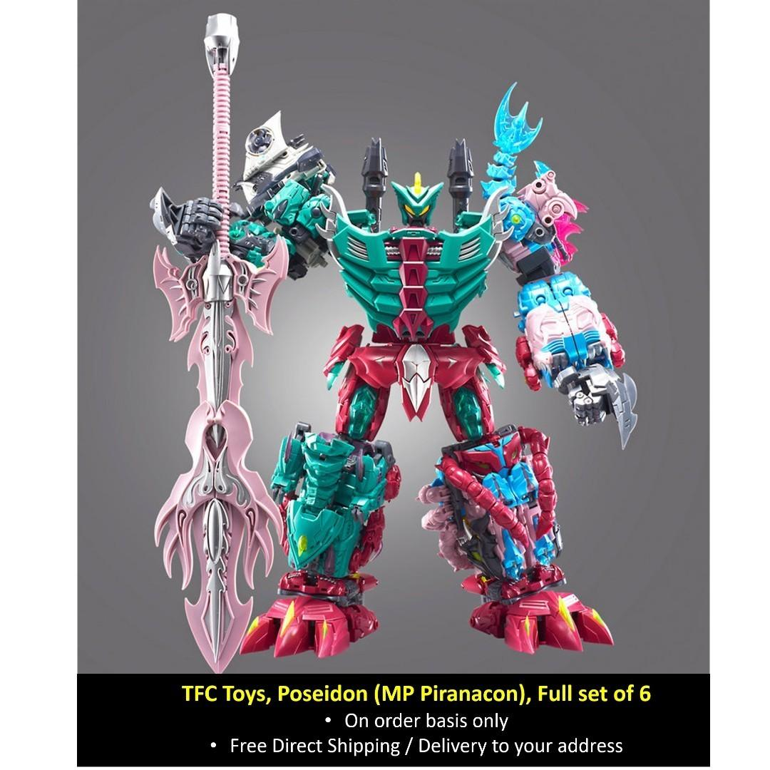 Pre-order New Transforms TFC Poseidon P-05 Deathclaw Action figure reprint
