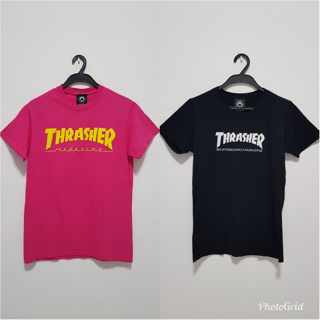 9339bcc53f4b Thrasher tees Sale Bundle!, Men's Fashion, Clothes, Tops on Carousell