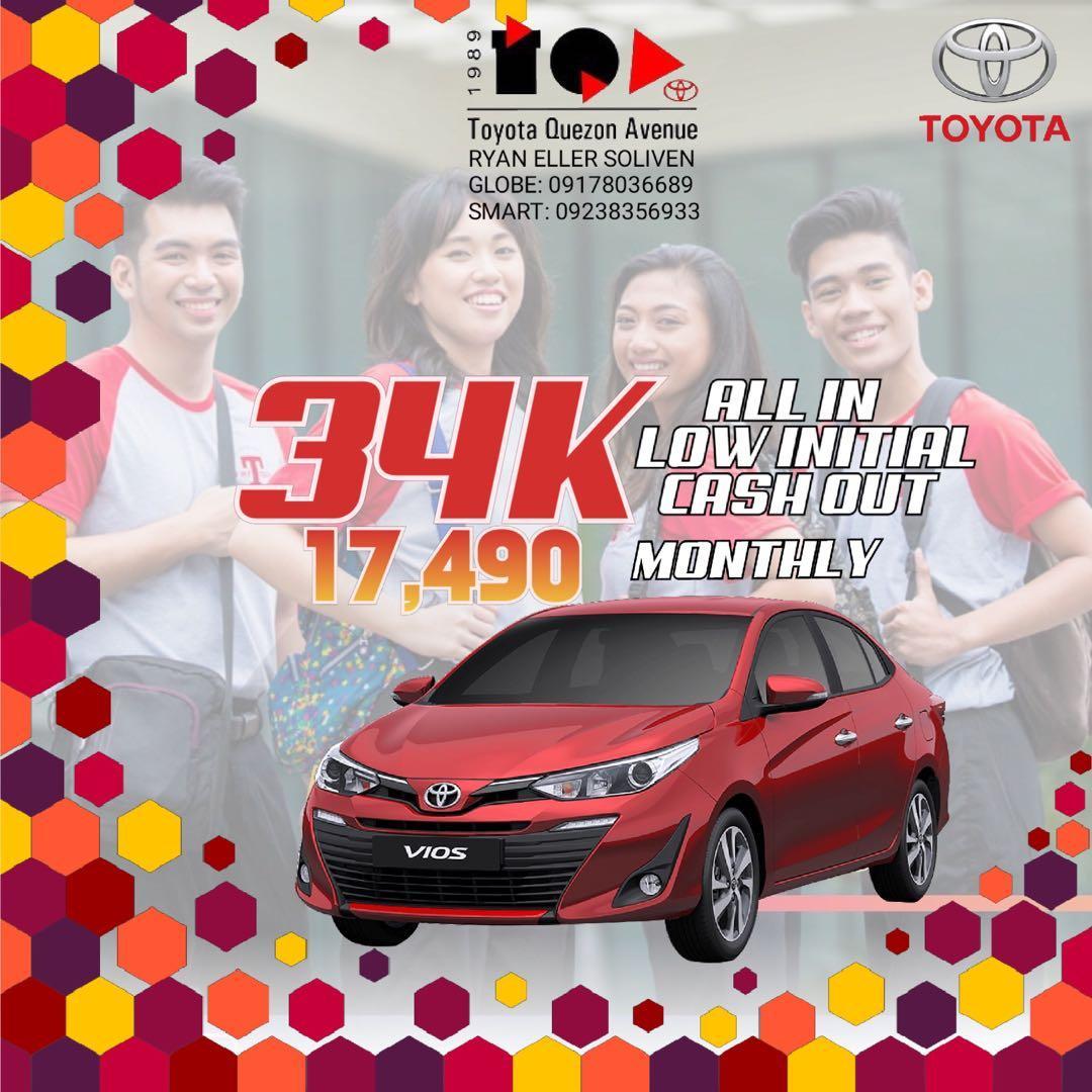 Toyota LOW DOWN Promo SURE Approval HASSLE FREE Transaction! #vios #innova #fortuner #avanza #wigo