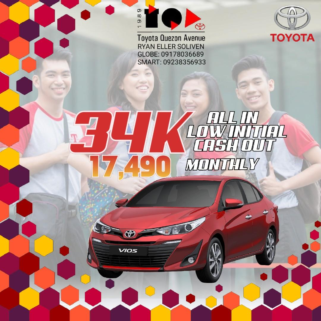 Toyota LOW DOWN Promo SURE Approval HASSLE FREE Transaction! #vios #innova #fortuner #avanza #wigo