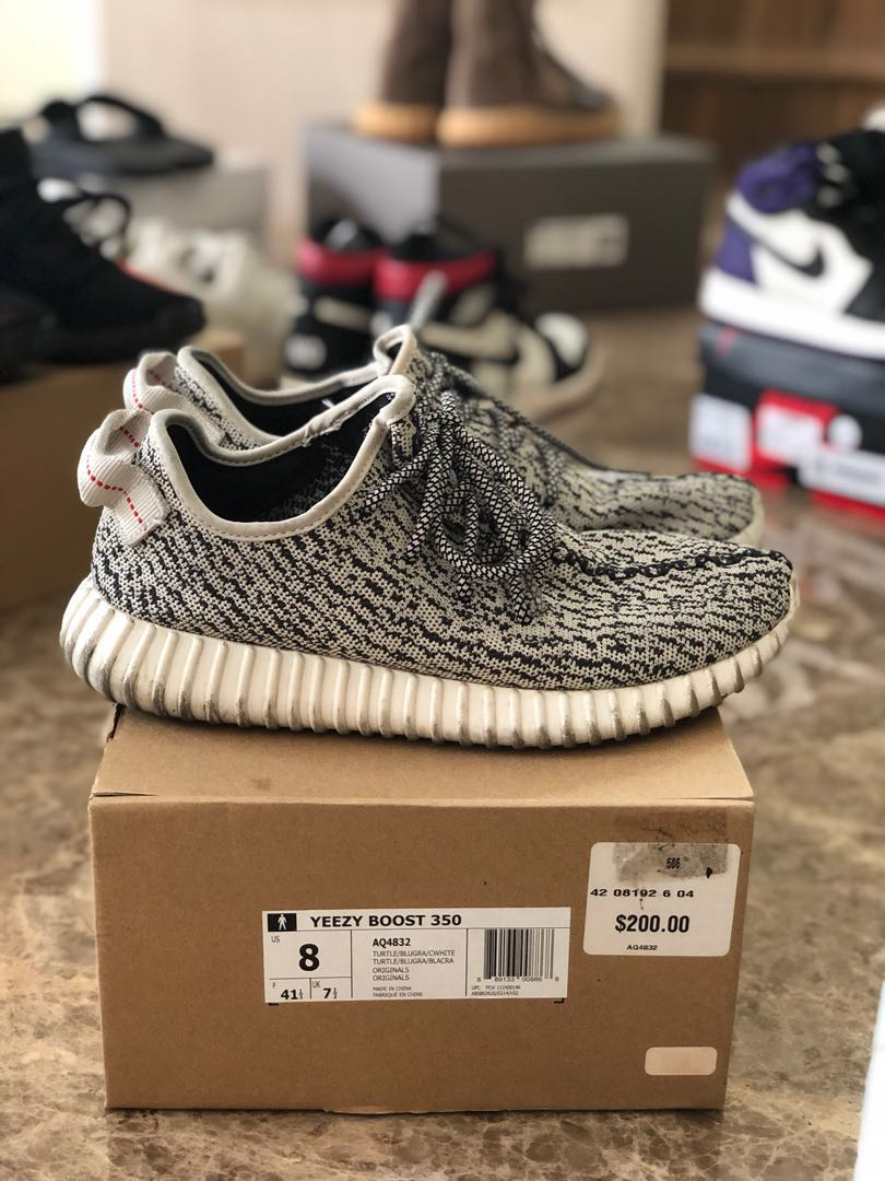 febc8cab4 USED Adidas Yeezy Boost 350 Turtle Dove OG US8