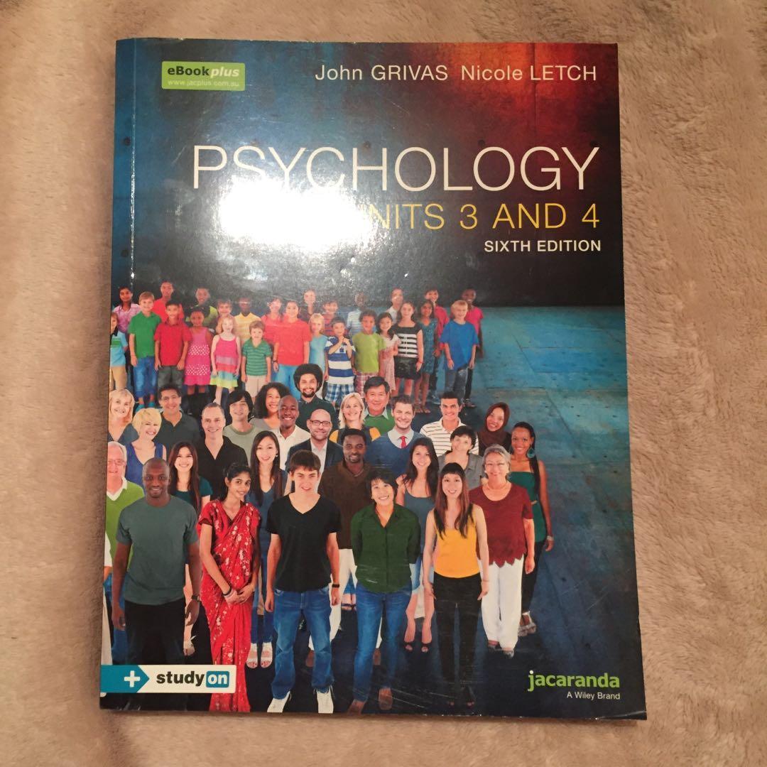 VCE Units 3 and 4 Psychology Jacaranda Textbook