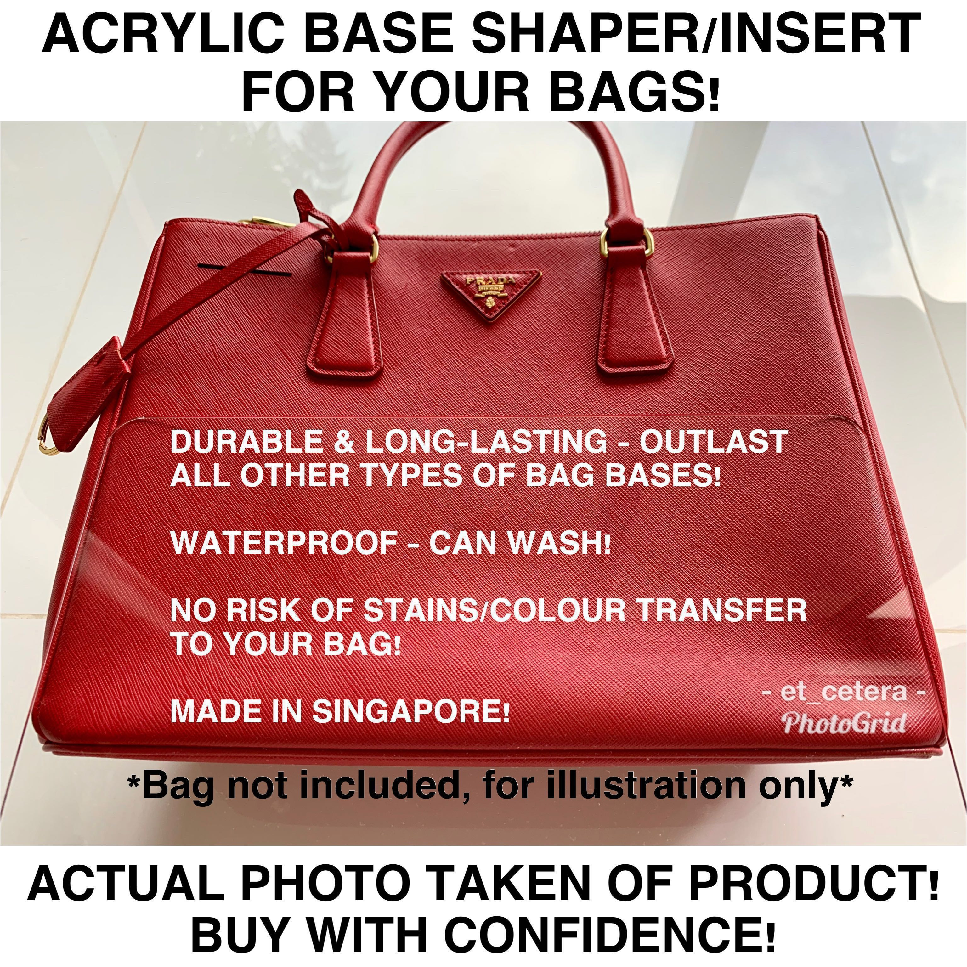 4d15bbee465 🌈VDAY SALE!😍 BN Acrylic Base Shaper Insert for Longchamp Le Pliage and  other Luxury Bags!  MakeSpaceForLove, Women s Fashion, Bags   Wallets, ...