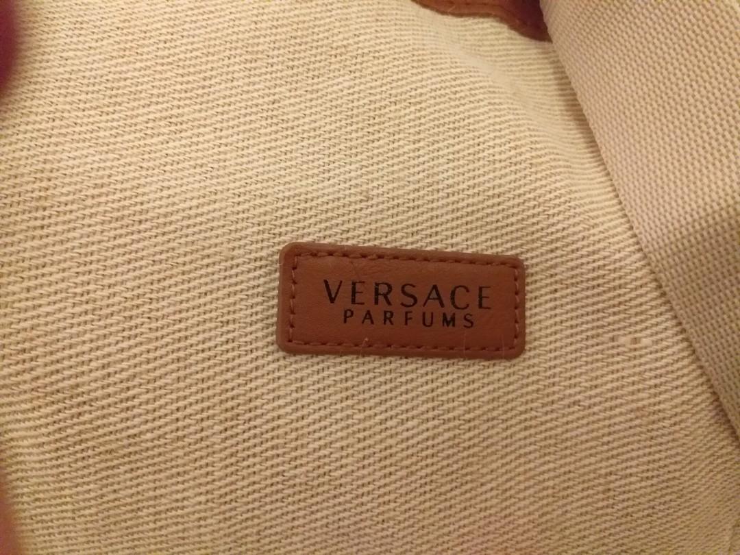 Versace Parfums Duffle Bag