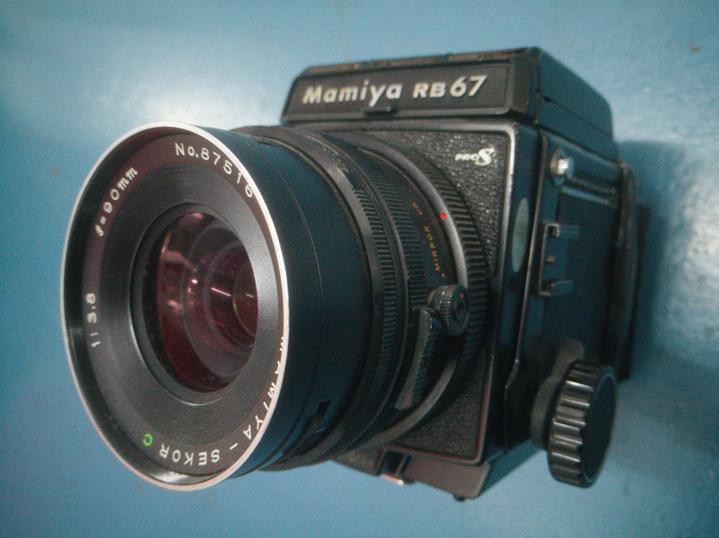Vintage mamiya rb67 MF with filmbacking (7/10)