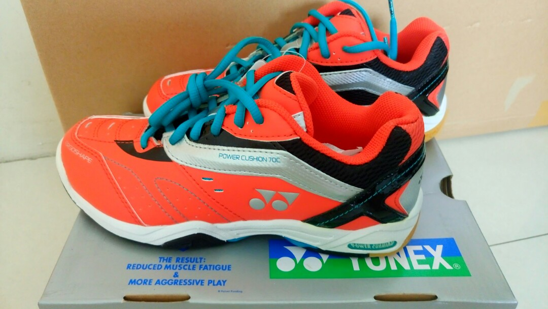 45ca194504a Yonex Badminton Shoes (size 24), Sports, Sports Apparel on Carousell