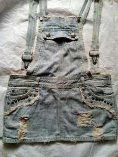 #CNY2019 rok jeans overall