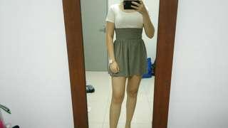 H&M BASIC GREY SKIRT #MFEB20