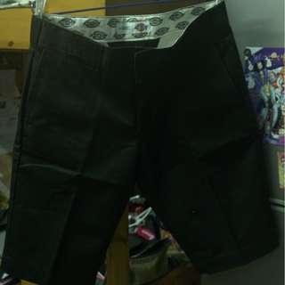 Dickies 黑色短褲 32 腰
