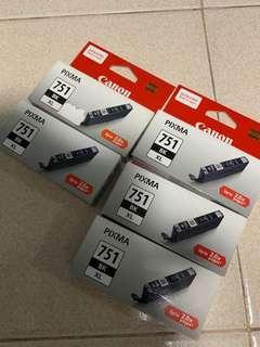 🚚 Canon Pixma 751 BK XL