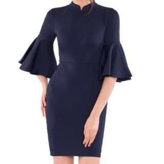 Brand New With Tag Doublewoot Navy Blue Dress