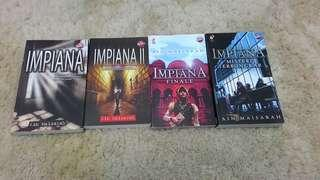 ALL IMPIANA BOOK COLLECTION BY AIN MAISARAH