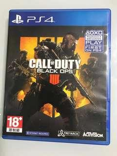 PS4 Call of Duty Black Ops 18+