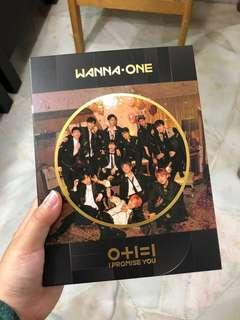 WTS FULL SET Wanna One I Promise You (Night ver.)