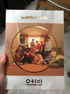 WTS FULL SET Wanna One I Promise You (Day ver.)