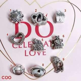 925 silver charms