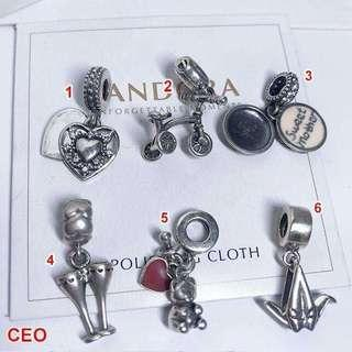 SILVER CHARMS 925