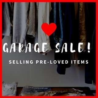 Garage Sale! Pre-loved Clothes