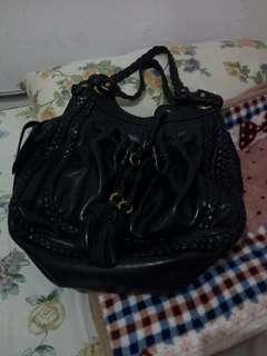 Lockheart satchel pure leather bag