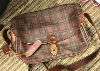 Polo vintage leather bag