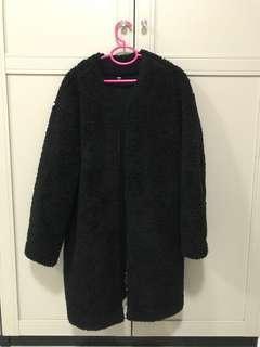 Uniqlo fur winter coat
