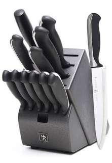 🚚 J.A. Henckels International Fine Edge Synergy 13-Piece Knife Block Set