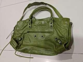 Balenciaga part-time bag in apple green