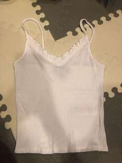 Topshop sleeveless / topshop blouse
