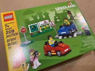 [100% new, limited edition] Japan LEGOLAND new version