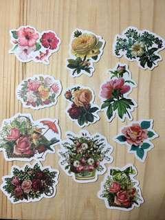 🚚 花朵🌺貼紙
